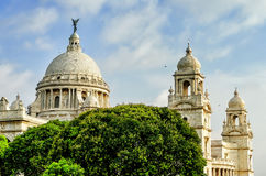 Victoria Memorial in India Royalty Free Stock Image