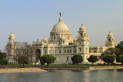 Victoria Memorial India Stock Photography
