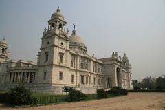 Victoria Memorial Kolkata arkivfoto