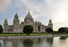 Victoria Memorial in Kolkata, stock photo