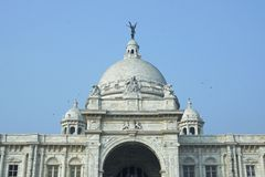Victoria Memorial in Kolkata Royalty Free Stock Images