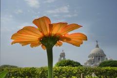 Victoria Memorial Kolkata, Calcutta royaltyfria bilder