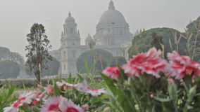 Victoria Memorial Kolkata, Calcutta, västra Bengal, Indien stock video
