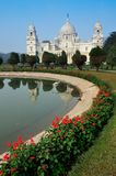 Victoria Memorial, Kolkata, Inde – bâtiment de point de repère. Photos libres de droits