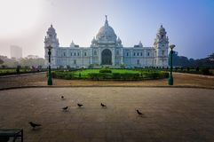 Victoria Memorial, Kolkata , India – landmark building. Royalty Free Stock Photography