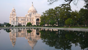 Victoria Memorial. Kolkata. India Stock Photography