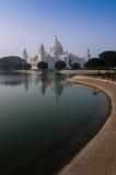 Victoria Memorial, Kolkata , India - Historical monument. Victoria Memorial, Kolkata , India - reflection on water. A Historical Monument of Indian Architecture Royalty Free Stock Images