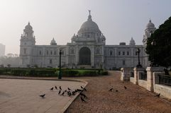 Victoria Memorial, Kolkata , India - Historical monument. Stock Photography