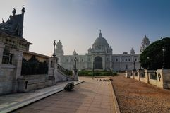Victoria Memorial, Kolkata , India - Historical monument. Victoria Memorial, Kolkata , India . A Historical Monument of Indian Architecture. It was built Royalty Free Stock Photos