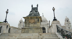 Victoria Memorial in Kolkata, India Royalty Free Stock Images