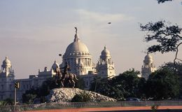 The Victoria Memorial, Kolkata Stock Photos