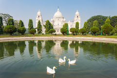 Victoria Memorial, Kolkata Royalty Free Stock Photo