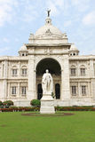 Victoria Memorial landmark in Kolkata, India Royalty Free Stock Photography