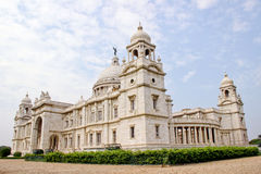 Victoria Memorial landmark in Kolkata, India Stock Photo
