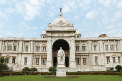 Victoria Memorial landmark in Kolkata, India Stock Image