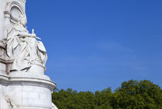 Victoria Memorial in London Stock Photo