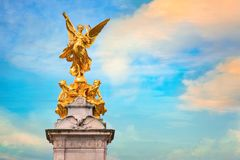 Victoria Memorial at the Mall Road in front of Buckingham Palace. London Royalty Free Stock Photography