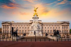 Victoria Memorial at the Mall Road in front of Buckingham Palace. London, UK Stock Photography