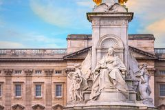 Victoria Memorial at the Mall Road in front of Buckingham Palace, London. UK Royalty Free Stock Image