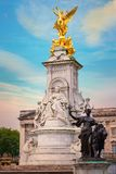 Victoria Memorial at the Mall Road in front of Buckingham Palace, London. UK Royalty Free Stock Photography