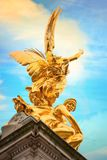 Victoria Memorial at the Mall Road in front of Buckingham Palace, London. UK Royalty Free Stock Photos