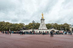Victoria Memorial is a monument to Queen Victoria Royalty Free Stock Photos