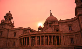 Victoria Memorial Museum at Sunset Stock Photos