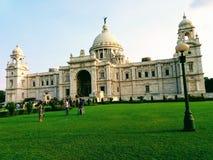 Victoria memorial palace. Kolkata in India Stock Image