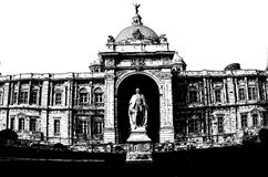 Victoria Memorial scratches royalty free stock images