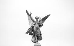 Victoria Memorial Statue (Detail). Angel detail of the Victoria Memorial Statue Royalty Free Stock Images