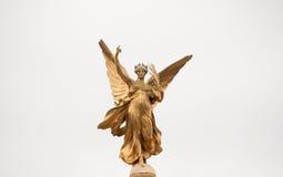 Victoria Memorial Statue (Detail). Angel detail of the Victoria Memorial Statue Royalty Free Stock Photos