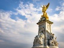Victoria Memorial un giorno nuvoloso immagine stock