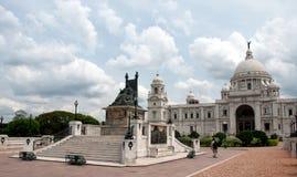 Victoria minnes- Hall i Colcutta Royaltyfria Foton