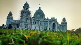 Victoria minnesmärke en slott i kolkata fotografering för bildbyråer