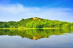 Victoria Nile, Uganda. Victoria Nile river, northern Uganda, Murchison Falls national park Stock Photos