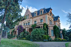 Victoria Ocampo manor. Mansion San Isidro, Buenos Aires, Argentina royalty free stock photography