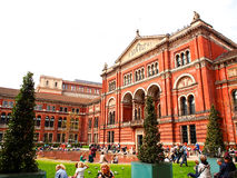 Victoria och Albert Museum, London, UK Royaltyfria Bilder