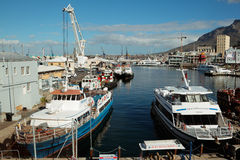 Victoria och Alfred Waterfront - Cape Town Royaltyfri Foto