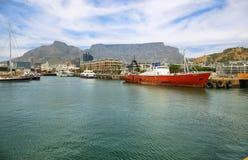 Victoria och Alfred Waterfront i Cape Town Fotografering för Bildbyråer