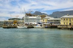 Victoria och Alfred Waterfront i Cape Town Royaltyfri Fotografi