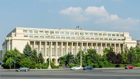 The Victoria Palace. Palatul Victoriei. Royalty Free Stock Photography