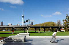 Victoria Park in Auckland New Zealand Stock Photography