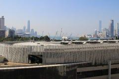 Victoria Park Causeway Bay in Hong Kong royalty-vrije stock afbeeldingen
