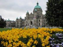 Victoria parlamentbyggnad Arkivbild