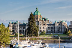Victoria Parliament House Canada Royalty Free Stock Photography