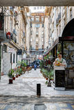 Victoria Passage in Bucharest Royalty Free Stock Images