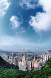 Victoria Peak. Hong Kong, China Royalty Free Stock Photos