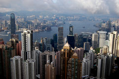 Victoria Peak Stock Photography