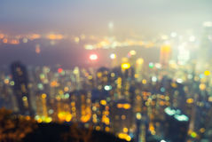 Victoria Peak Hong Kong Royalty Free Stock Photos