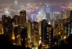 Victoria Peak, Hong Kong Stock Photos